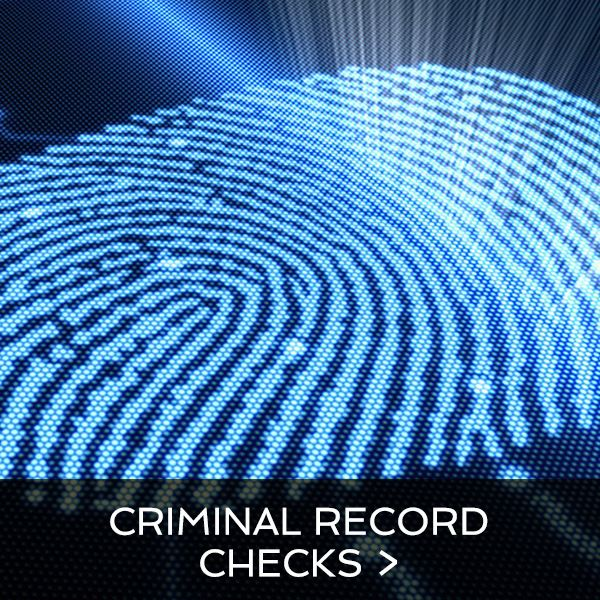 Criminal Record Checks