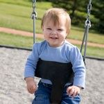 Baby on Swing at the Playground