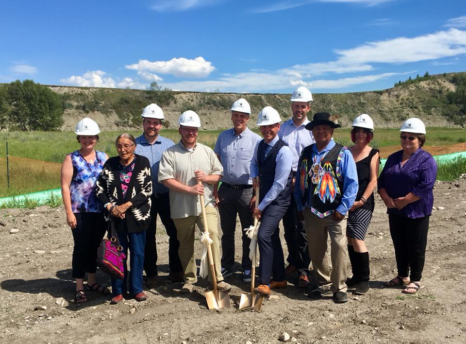 Group-groundbreaking July 9, 2018
