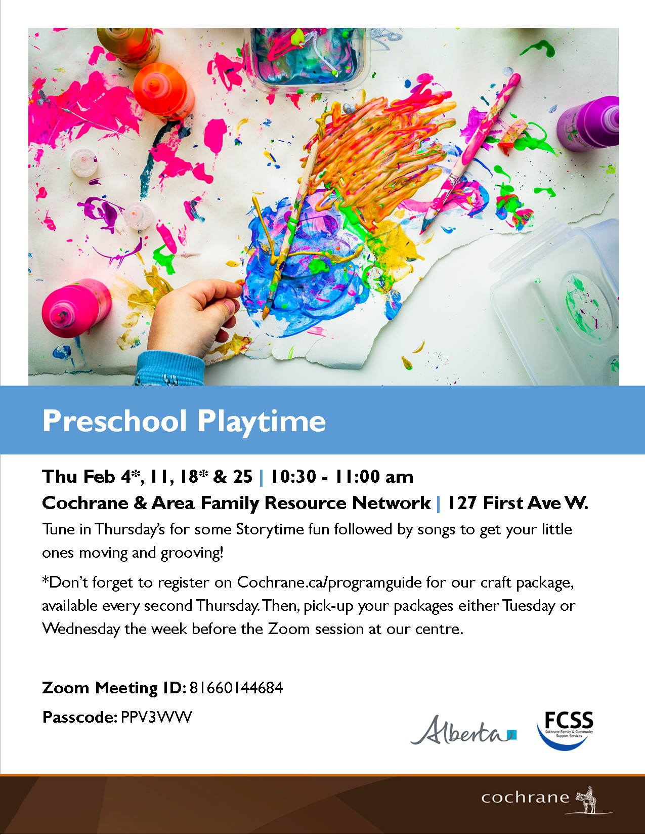Preschool Playtime 2021