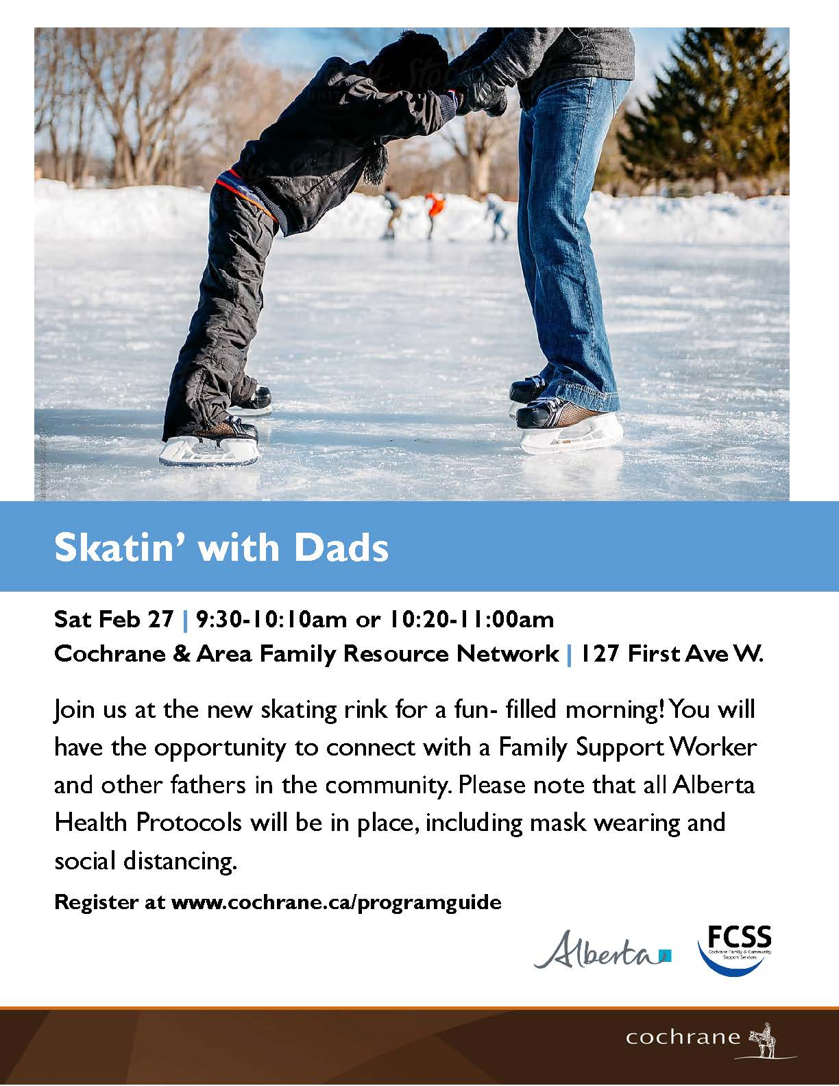 Skatin with Dads