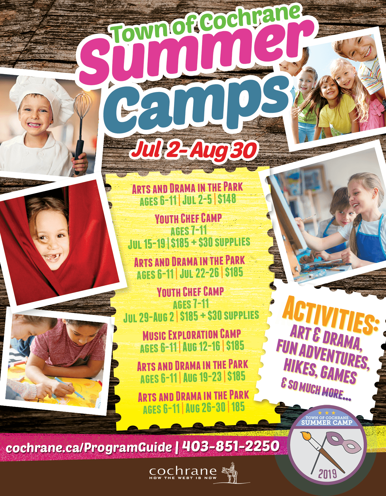 Summer Camps Poster 2019